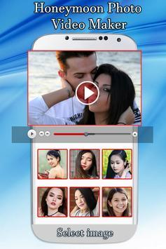 Honeymoon Photo Video Maker poster