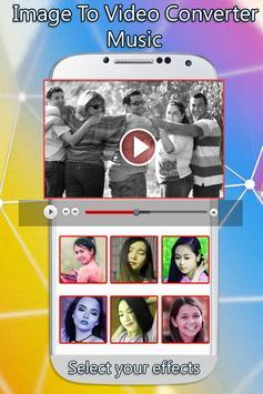 Image To Video Converter Music screenshot 1