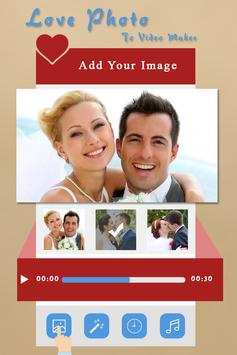 Love Photo to Video Maker poster