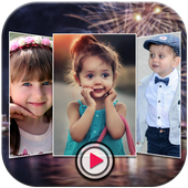 New Year Video Maker icon