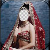 Wedding Dress Photo Suit icon