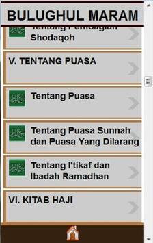 BULUGHUL MARAM apk screenshot