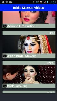 Bridal Makeup Videos 2018 apk screenshot