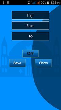 Prayer Auto Profile Selector apk screenshot