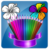 The Kids Coloring Book icon