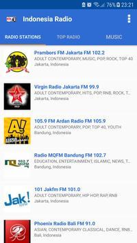 Indonesia Radio - Radio Online poster