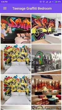 Teenage Graffiti Bedroom poster