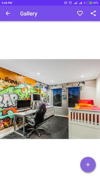 Teenage Graffiti Bedroom screenshot 5