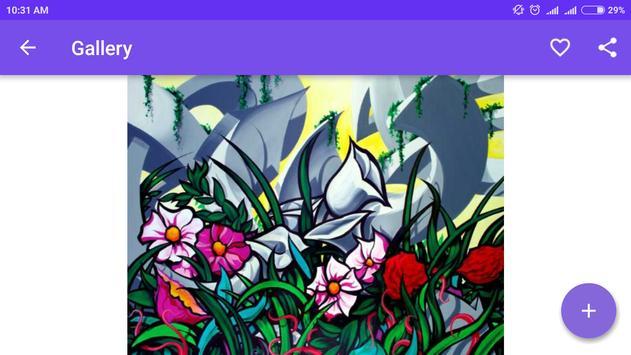 Drawing Graffiti Flowers screenshot 3