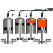 Silnik spalinowy ikona