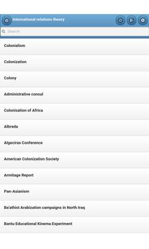 International relations theory screenshot 8
