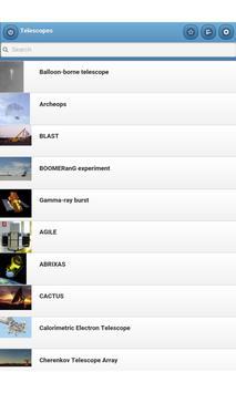 Telescopes apk screenshot