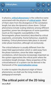 Statistical mechanics screenshot 1