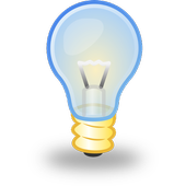 Sources of light icon