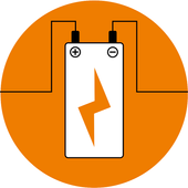 Theoretical electrical enginee icon