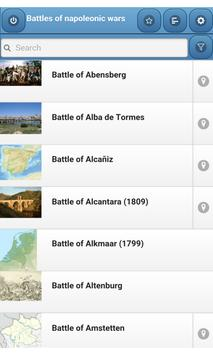 Battles of napoleonic wars poster