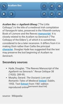 Medieval literature screenshot 1