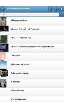 Telecommunications equipment screenshot 11
