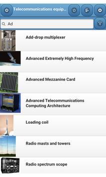 Telecommunications equipment screenshot 1