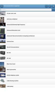 Telecommunications equipment screenshot 4
