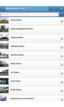 Railway stations in Tokyo screenshot 8