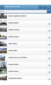 Railway stations in Tokyo screenshot 11
