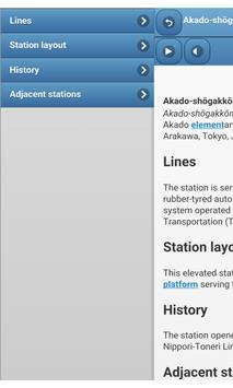 Railway stations in Tokyo screenshot 2