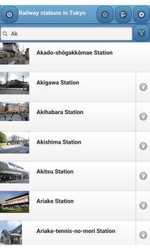 Railway stations in Tokyo screenshot 3