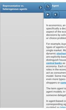 Economic theory apk screenshot