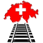 Railway in Switzerland icon