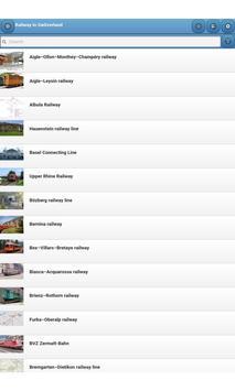 Railway in Switzerland screenshot 4