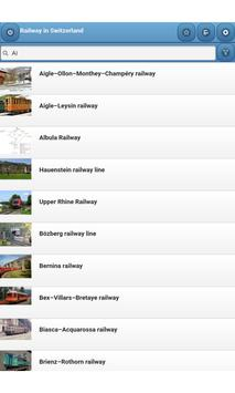 Railway in Switzerland apk screenshot