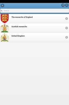 Monarchs of Britain apk screenshot