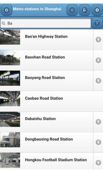 Metro stations in Shanghai screenshot 3
