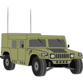 Armored cars icon