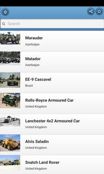 Armored cars poster