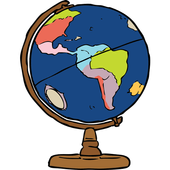 Geographical terms icon