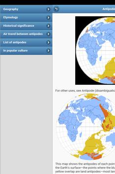 Geographical terms apk screenshot