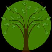 Ornamental trees icon