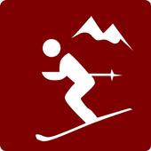 Ski resorts icon