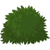 Ornamental shrubs icon