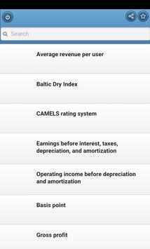 Economic indicators poster