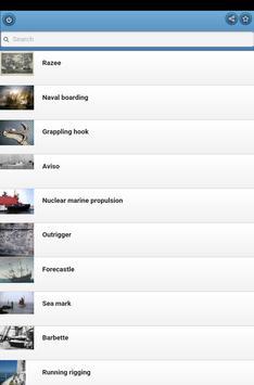 Marine Terms apk screenshot