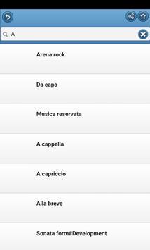 Musical Terms screenshot 3
