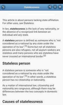 Immigration Law screenshot 1