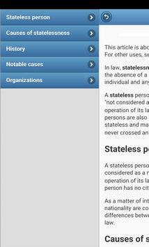 Immigration Law apk screenshot