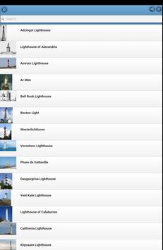 Lighthouses apk screenshot