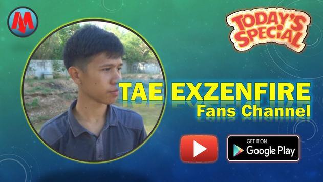 TAE EXZENFIRE Fans Channel poster