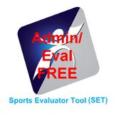 SET Admin/Evaluator Free icon