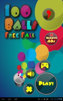 100 Balls Free Fall apk screenshot